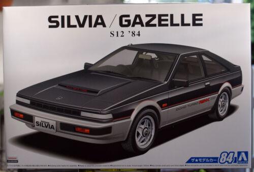 Gazelle Turbo RS-X JDM 1:24 Aoshima 056158 1984 Nissan Silvia S 12