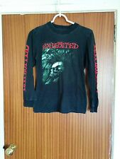 Rare vintage The Exploited tour shirt long sleeved punk rock Wattie XL lady fit