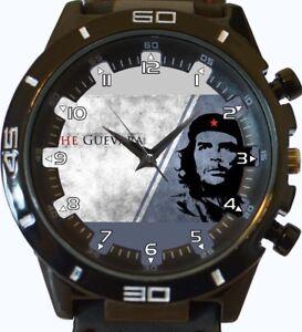 Armbanduhren Armband- & Taschenuhren Che Guevara Revolution Neu Trendy Serie Unisex Geschenk Armbanduhr Senility VerzöGern