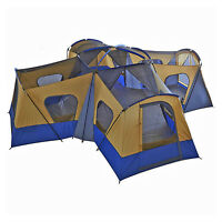Camping Instant Tent 14 Person 20' X 20' Base Camp Family Cabin Canopy Large