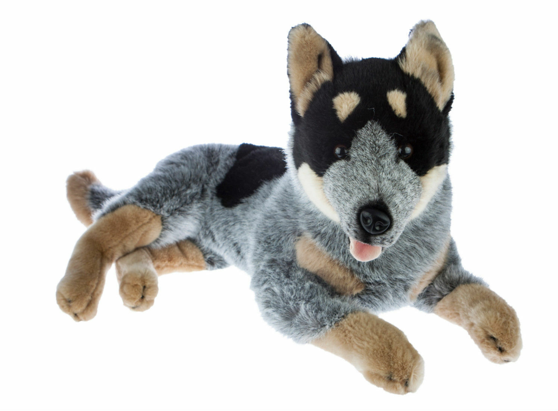 BNWT - Bocchetta Australian bluee Heeler Cattle Dog Plush Toy 60cm 23.62inch