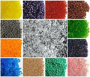 CHOOSE-COLOR-20g-10-0-2-3mm-Seed-Beads-Rocailles-Preciosa-Czech-Glass