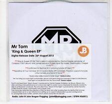 (EF253) Mr Tom, King & Queen EP - 2013 DJ CD