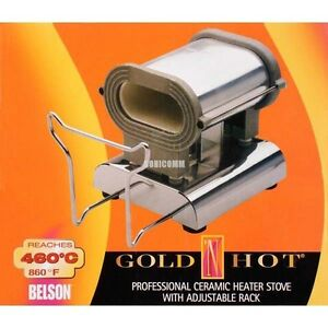 Image Is Loading Gold 039 N Hot Professional Ceramic Heater Stove
