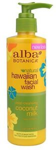 Alba Botanica Natural Facial Wash Deep Cleansing Coconut Milk 237ml NO PARABENS - <span itemprop='availableAtOrFrom'>Hereford, United Kingdom</span> - Alba Botanica Natural Facial Wash Deep Cleansing Coconut Milk 237ml NO PARABENS - Hereford, United Kingdom