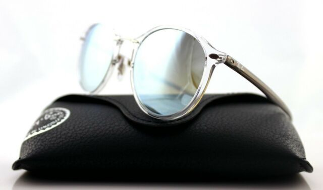 NEW Authentic RAY-BAN Light Ray Transparent Brown Sunglasses RB 4242 6290/B8