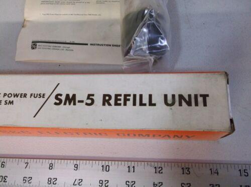 50E S/&C ELECTRIC SM-5 REFILL UNIT 132075R4 14.4KV