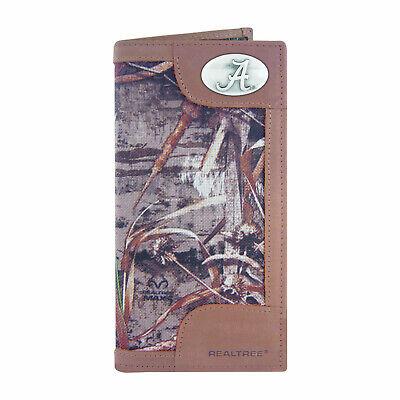 ZEP PRO Alabama Crimson Tide Roper REALTREE MAX-5 Camo Wallet TIN GIFT BOX