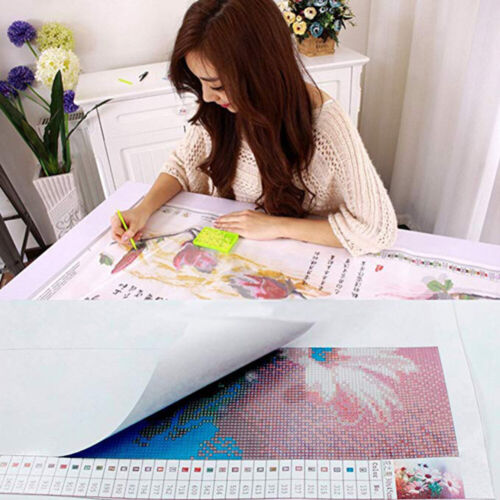 5D Two Dolphins Full Drill Diamond Painting Cross Stitch Kits Embroidery Decors