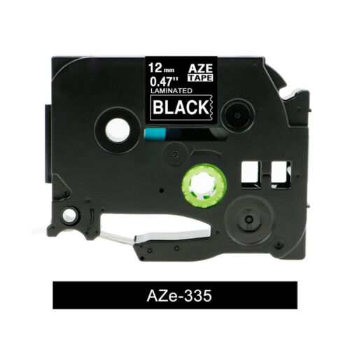 TZe 231 631 241 Laminated Label Tape Compatible Brother P-Touch PTD200 12mm 24mm
