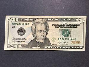 Image Is Loading 20 Dollars Bill Series 2013 034 Almost Radar