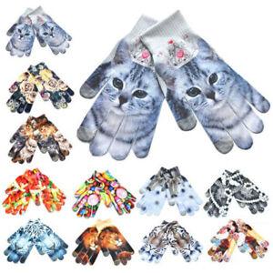 Mode-Chaud-Gants-Imprimes-En-3D-Ecran-Tactile-Mitaines-Laine-Tricote