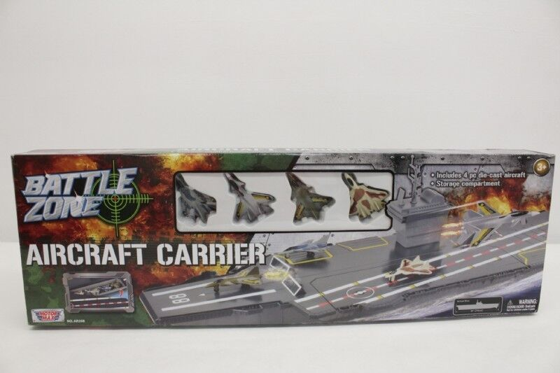 Battle Zone Electronic Fleet Command Aircraft Carrier NEW