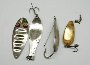lot of vintage fishing lures -johnson-bruee-paul bunyan-old pal, Hard Baits