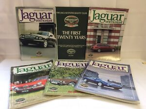 FAB-6-Jaguar-Enthusiast-Magazines-20-yrs-1984-2004-amp-5-2004-issues-Great