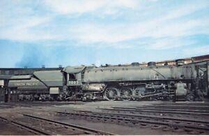 Union Pacific Railroad #7003 4-8-2 Steam Locomotive Vanishing ...