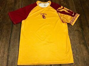dad319879 USC Trojans mens M medium NIKE shirt NCAA football basketball ...