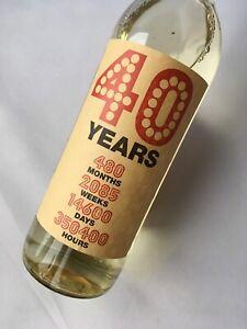 40th-Birthday-Kraft-Wine-Bottle-Label-Gift-40-Years-in-Time-months-days-weeks