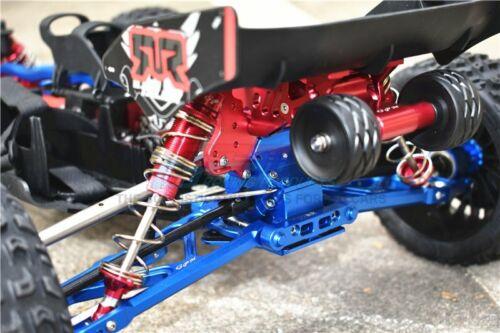 GPM Aluminum Rear Adjustable Wheelie Red Arrma TALION TYPHON