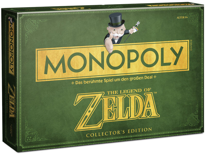 Monopoly Zelda Board Game Party Game Game Collector's Edition German