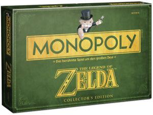 Monopoly-Zelda-Brettspiel-Gesellschaftsspiel-Spiel-Collector-039-s-Edition-deutsch
