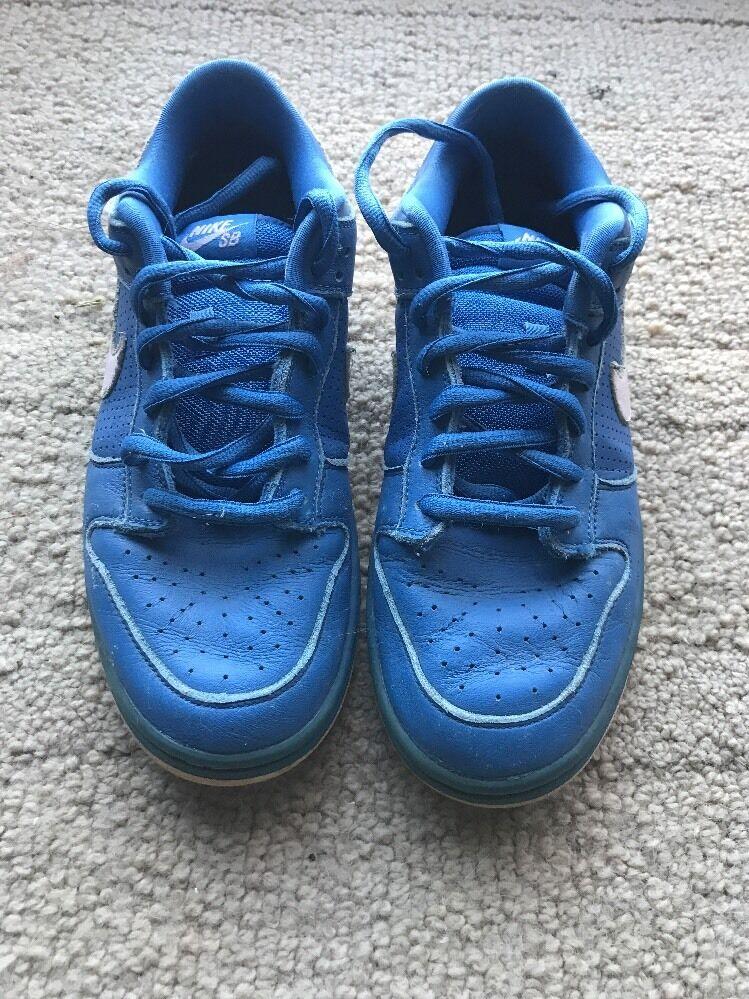 Nike Dunk Low Premium SB Varsity bluee Pink Ice Sz 9.5 313170-462