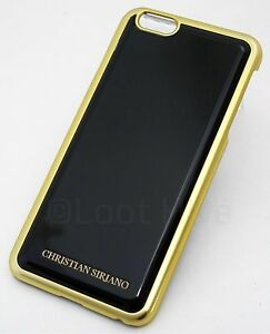 new styles e673a 344e1 Details about NEW Christian Siriano iPhone 6+/6s PLUS Designer Cell Phone  Case BLACK/GOLD Cool