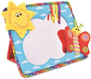 Galt-SMILEY-SUN-MIRROR-Baby-Toddler-Toys-And-Activities-BN
