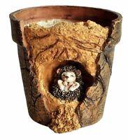 Baby Hedgehog Functional Flower Pot (4214) Fairy Garden Miniature