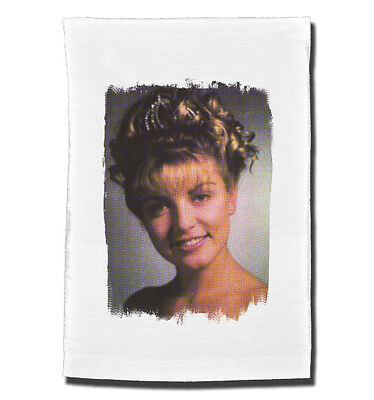 LAURA PALMER tea towel. Inspired by the cult TV series Twin Peaks