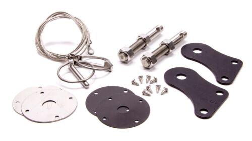 Drake Hood Pin Kit Stainless 05-09 Mustang