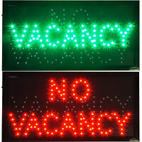 Vacancy/no Hotel Motel Hostel Led Open Closed Business Travel Sign Room For Rent on Sale