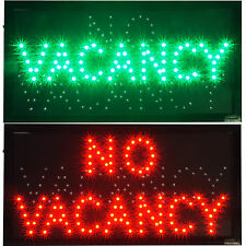 VACANCY/NO hotel motel hostel LED Open Closed Business Travel Sign Room for rent