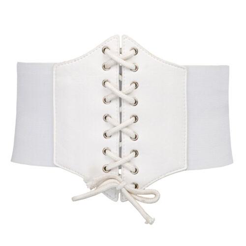 Élastique Large Corset Ceinture Serre-Taille Grande Taille Femme Extensible