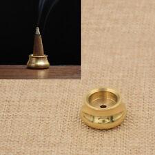 Räucherstäbchen Räucherkegelhalter Gold Asche Sammeln Chinesisch Schüssel Form