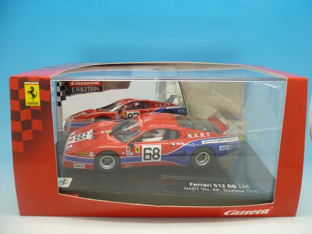 Carrera 27371 Ferrari 512 BB LM 1979, boxed, mint used once