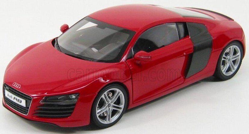 Audi R8 Kyosho 1 18  No. 09213R rouge nouveau  bas prix