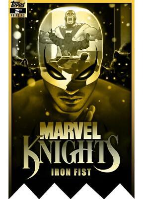 DIGITAL CARD 750cc Topps Marvel Collect Iron Fist MARVEL KNIGHTS 2nd Printing