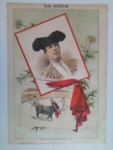 1893-La-Lidia-Revista-Taurina-Ano-XII-Numero-11-Cogida-de-Antonio-Arana-Jarana