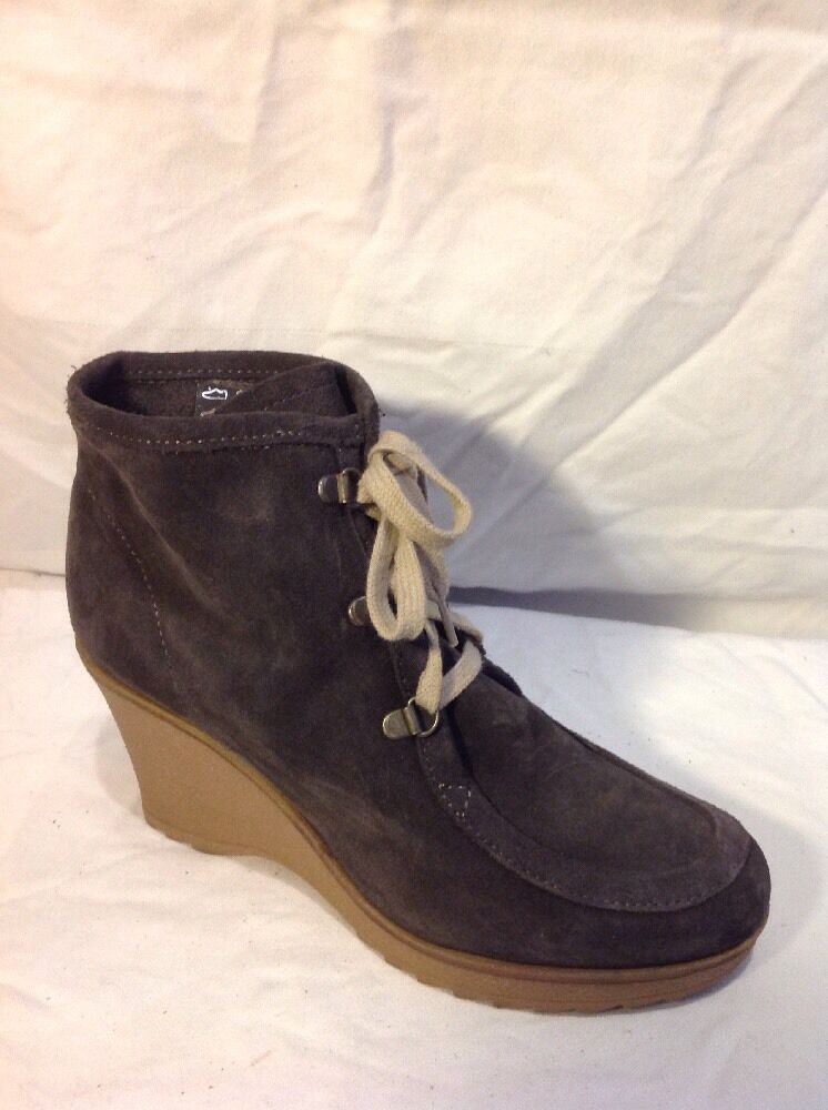 Carvela Brown Ankle Suede Boots Size 41