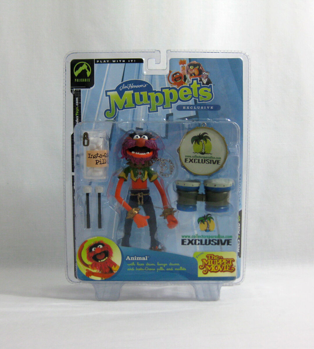 Nuevo 2004 The Muppets ✧ animal ✧ Palisades Coleccionistas paraíso exclusivo MOC
