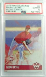 2018 DIAMOND KINGS SHOHEI OHTANI FACING FORWARD #73 PSA 10 GEM MINT RARE HOT RC