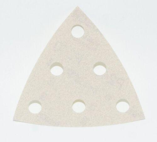 50x Bosch Deltaschleifer Schleifblatt für Dreieckschleifer P240 95mm 2608608070