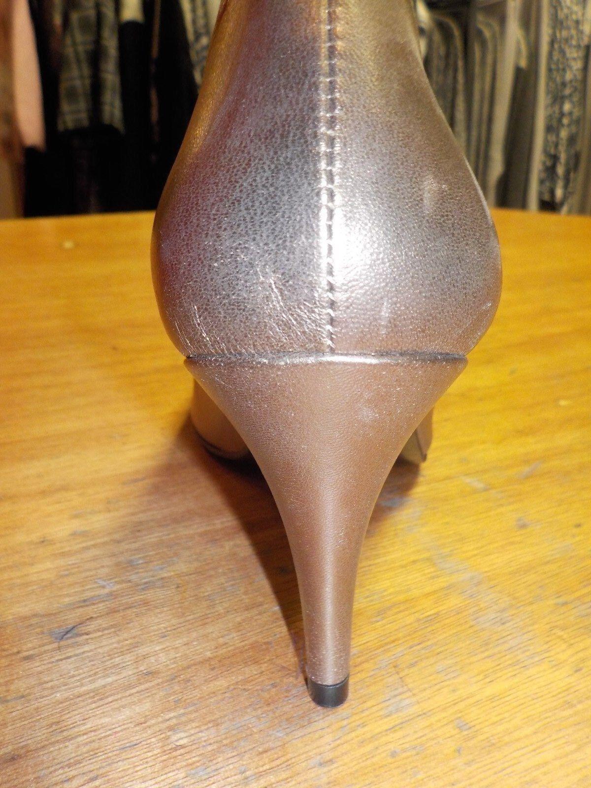 Orlando Storm Gold/ Größe Smoke Leder shoe JESSICA Größe Gold/ 61/2 69ab35