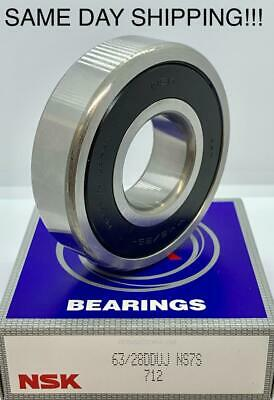 NSK 6908DDU Bearing Rubber Sealed 6908 DDU 6908-2RS-C3 40x62x12 mm