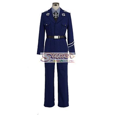 Axis Powers Prussia//Gilbert Uniform COS Clothing Cosplay Costume APH Hetalia