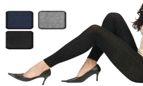 1 2 oder 4 Stück Damen Leggings   Leggins   Baumwolle//Elasthan    2E1