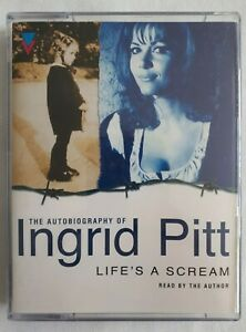 Audiobook-The-Autobiography-of-Ingrid-Pitt-Lifes-a-Scream-Double-Cassette