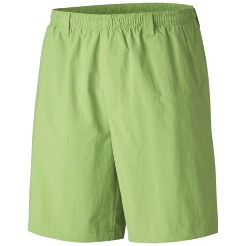 "Columbia PFG Men/'s Backcast III Water Swim Short 8/"" Inseam Fishing Spring Green"