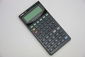Casio fx-5500l casio pocket computers & calculators collector.